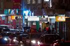 Ethnic restaurants on Dominion Road in Balmoral.