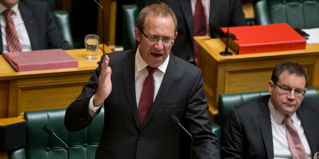 Although the original error occurred under a Labour Government that hasn't stopped Labour leader Andrew Little from blaming National. Photo / Mark Mitchell