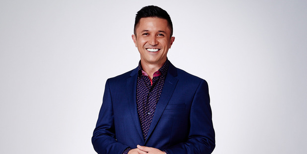 Mike Puru, host of The Bachelor. Photo / Supplied