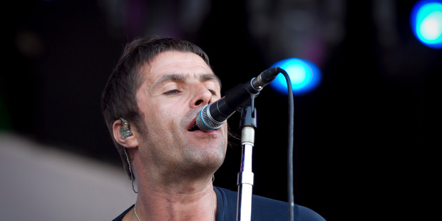 Former Oasis frontman Liam Gallagher quits music after failing to come up with a hit.