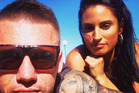 Shaun Kenny-Dowall and his partner Jessica Peris in a photo sourced from his Instagram @skennydowall