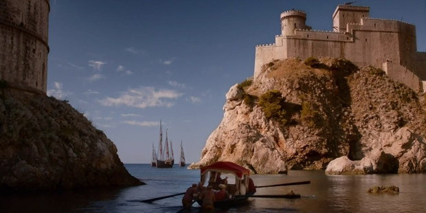 Dubrovnik in Croatia (above) features in Game of Thrones. Photo / Supplied
