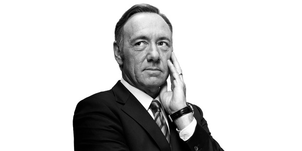 Kevin Spacey returns as President Underwood. Photo / Supplied