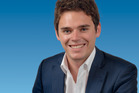 Todd Barclay said taking over from Bill English had been a steep learning curve. Photo / Supplied