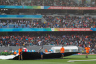 Instead of hosting a cricket test or rugby match, Eden Park will host people taking part in Stadium Stomp on March 20.