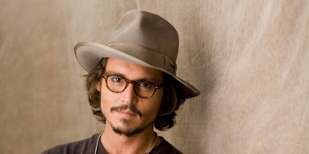 Johnny Depp made his debut on zombie drama The Walking Dead, as a decapitated head.