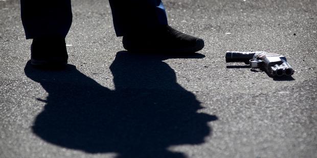 Guns don't kill people. People kill people. Photo / Christine Corneg