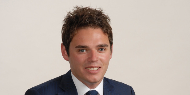 25 year-old MP Todd Barclay entered Parliament in 2014, taking the seat which Bill English had held for more than 20 years. Photo / Supplied