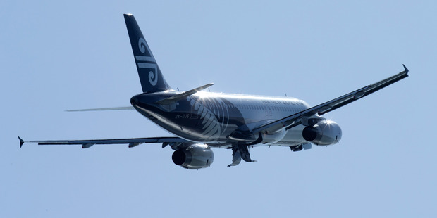 An Air New Zealand Airbus A320. Photo / Mark Mitchell