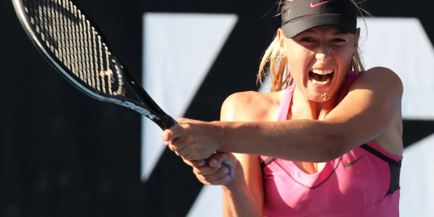 DRIVEN: Maria Sharapova was driven to perform from an early age. PHOTO FILE