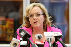 Police Minister Judith Collins would support a Parliamentary Select Committee inquiry. Photo / Getty Images
