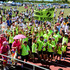 PPCS Beef Busters Whakatu were top team who generated most money from fundraising, Start of Relay for Life, Photograph by Warren Buckland