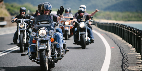 HOG HEAVEN: More than 1000 Harley-Davidsons will descend on the Bay of Islands on March 11-12. PHOTO/SUPPLIED