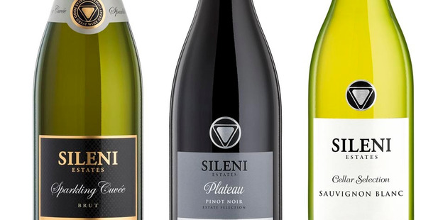 REVEALED: The three new wine line designs for Sileni labels. PHOTO/Supplied