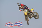 Ben Townley rode to second place in the second moto of the Thailand MXGP round on Sunday. Photo/Ray Archer/Suzuki Racing