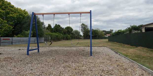 Swings at the Ben Iorns Reserve in Masterton. PHOTO/SUPPLIED