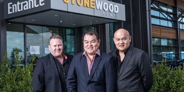 Adult entertainment and real estate specialists the Chow brothers and another investor have bought Christchurch's Stonewood Homes. Photo / Suplied