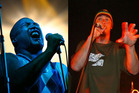Shapeshifter frontman P-Diggsss and Sunshine Soundsystem's MC KP will perform at Crankworx this weekend.  Photos/File