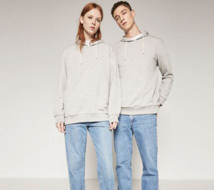 New 'ungendered' items. Photo / Zara