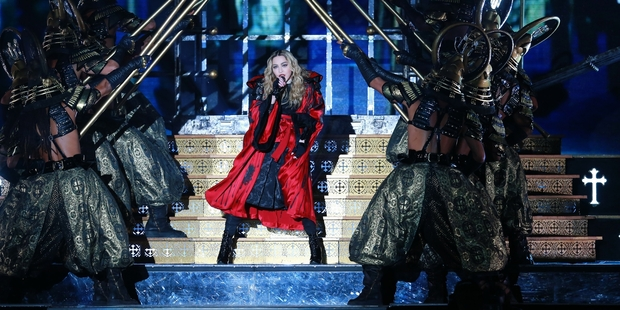 Madonna, in spite of her advanced age, has still got what it takes. Photo / Norrie Montgomery