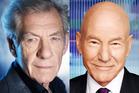 Sir Ian McKellen and Sir Patrick Stewart.