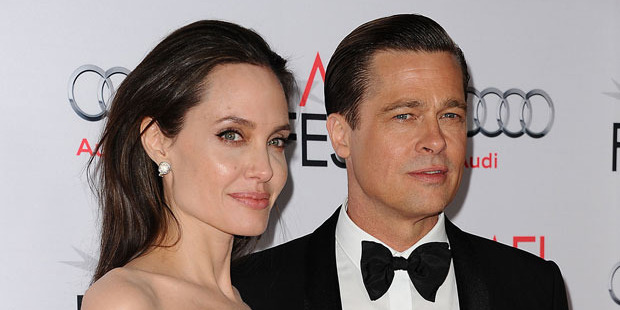 Angelina Jolie and Brad Pitt. Photo / Getty Images