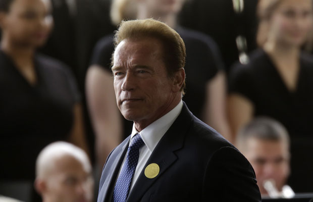Former governor of California Arnold Schwarzenegger. Photo / Getty Images