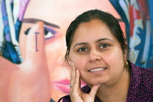 Sonia Pathak, Shakti Ethnic Women's Support Group manager and co-ordinator