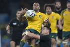 Kurtley Beale in action for the Wallabies. Photo / Brett Phibbs