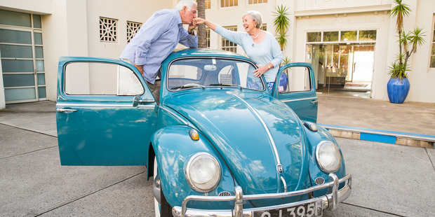 Beth and Ivan Hodge have toured the world in their beetle. Photo / Supplied