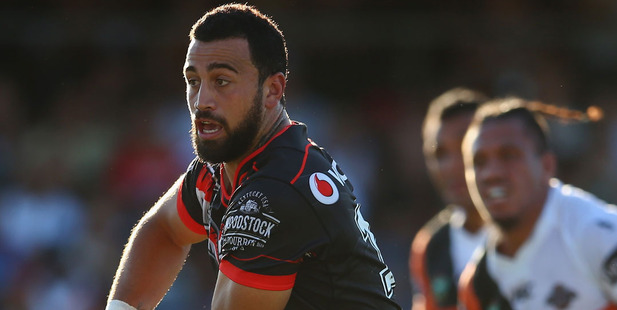 "Loading Ben Matulino says the Warriors are ""strong as ever"". Picture / Getty Images"