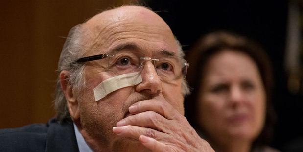 Sepp Blatter. Photo / Getty