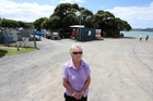 Margaret Sheridan is among Parua Bay residents who want a 'temporary' rubbish tip that has remained for seven years, gone. Photo / Michael Cunningham