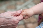 SUPPORT: Having grandparents involved with looking after a child is great for all. PHOTO/SHUTTERSTOCK