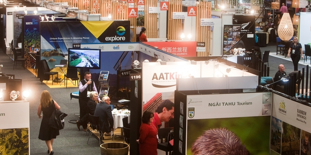 This year's Trenz in Rotorua already has a waiting list. Pictured is last year's event at the Energy Events Centre.