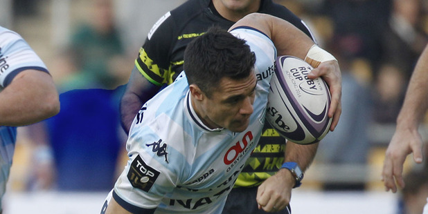Dan Carter had another strong game for Racing-Metro. Photo / Ap