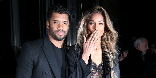 Russell Wilson and Ciara have announced they are engaged. Photo / Getty Images