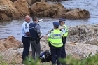 Senior sergeant Bruce Adams confirmed a 37-year-old woman died today at Island Bay after a 45-minute dive with her husband.