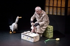 Peter Wilson adapted and stars in Duck, Death and the Tulip. Photo / Stephen A'Court