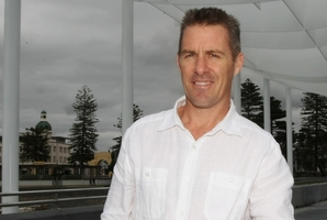 """Napier City Council infrastructure director Jon Kingsford says Napier's low-lying CBD presents """"real difficulties"""" for drainage. Photo / Paul Taylor"""