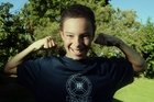 Ben Gouldsbrough, 12, from Hastings, will be competing in the Mitre 10 Tough Kids event at the Hawke's Bay Regional Sports Park in Hastings. Photo / Paul Taylor