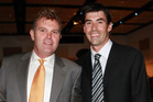 Martin Crowe and Stephen Fleming in 2009. Photo / Herald on Sunday