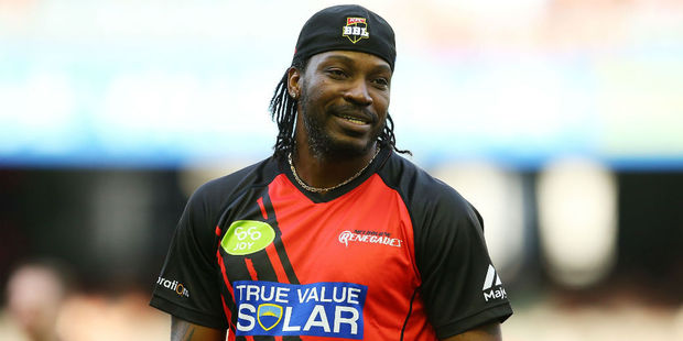 Chris Gayle. Photo / Getty