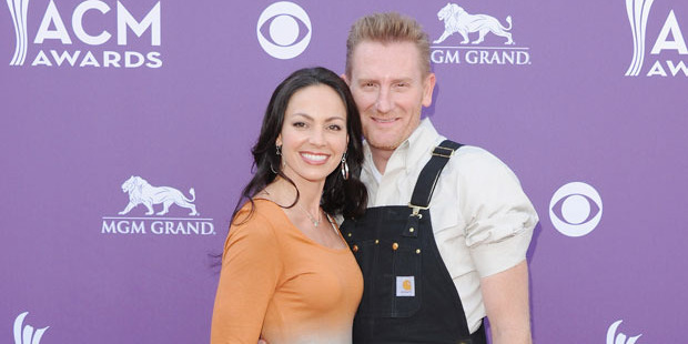 Joey with her husband Rory Feek. Photo / Getty Images