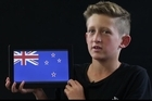 Kaukapakpa Primary School students talk about what flag they would prefer NZ to have.