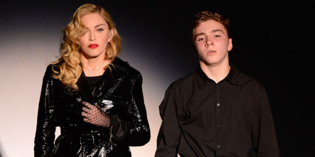 Losing him: Madonna with her son Rocco. Photo / Getty Images