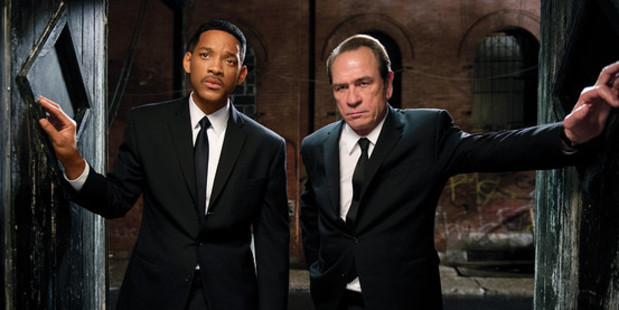 Will Smith and Tommy Lee Jones are the Men in Black.
