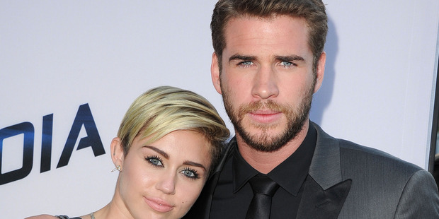Miley Cyrus and Liam Hemsworth are officially an item once again. Photo / Getty