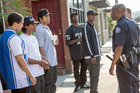 A scene from the movie Straight Outta Compton. Photo / Jaimie Trueblood, Universal Pictures