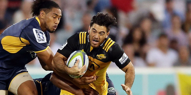 Nehe Milner-Skudder remains in doubt to face the Hurricanes. Photo /Getty